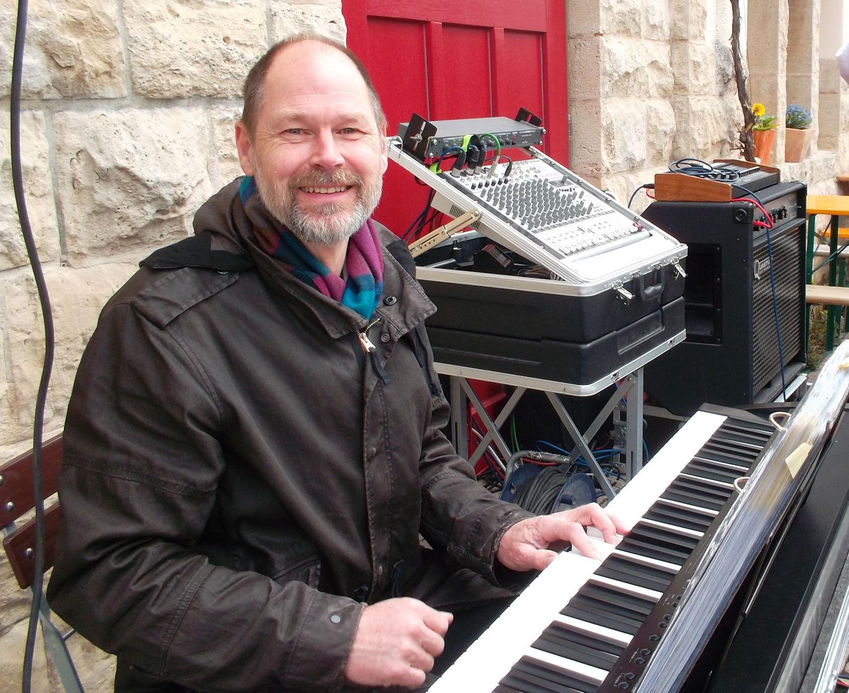 Dirk am E-Piano
